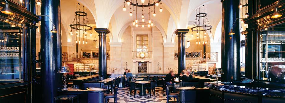 PBH Shopfitters - The Wolseley Cafe Restaurant